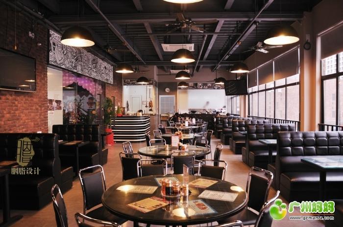 脂设计 工装 港式茶餐厅 装修家居