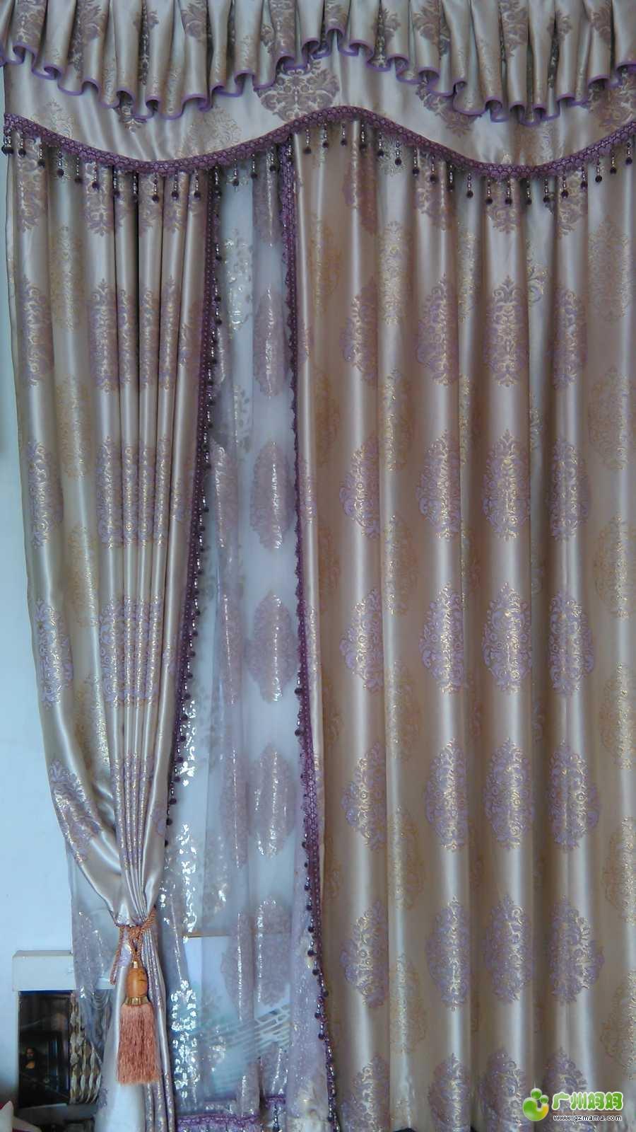 窗帘水波如何裁剪
