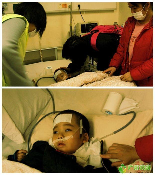 吉娜和妈网小编给自己打气加油,小义忍不住哭了-淘街市救助儿童